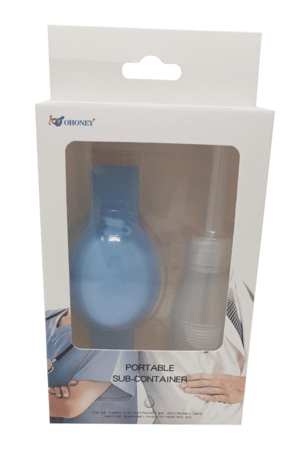 Washino-Verpackung-Hellblau Desinfektionsarmband in Österreich online kaufen